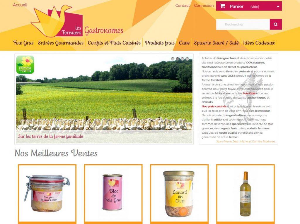site web foie gras