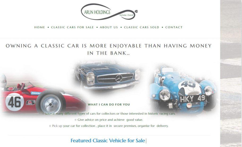Website arun holdings