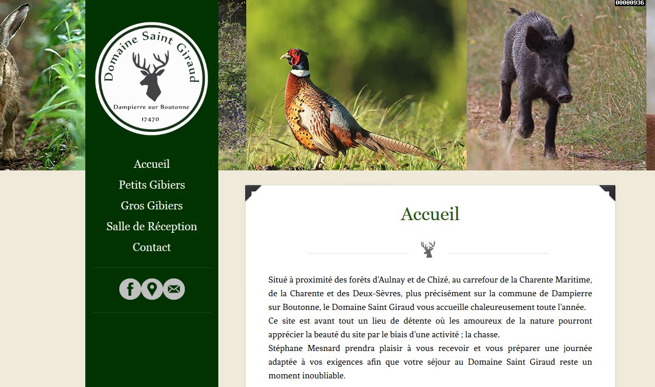 site domaine chasse